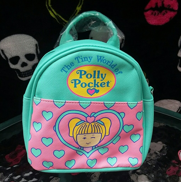 Polly Pocket Backpack Bag Mini NEW